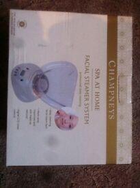 champneys facial steamer system