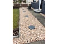 20 mm Spey garden and driveway chips/ stones/ gravel