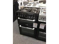 Leisure cookmaster gas cooker 60cm double oven new graded 12 mth gtee