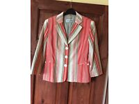 Gerry Weber stripped ladies Jacket size 10