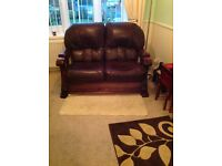 2 x sofas 3 seater and 2 seater