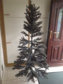 Christmas tree 6 ft slate colour