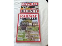 An Assortment of 30 Model Railway Magazines