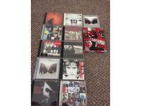 U2 albums & dvd