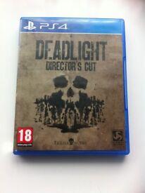 Ps4 game DEADLIGHT Directors cut