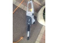 Titan electric chainsaw, used on 3or4 occasions light use on small logs for my log burner.