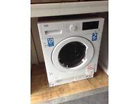 Beko intergrated 7kg washer/dryer. £369 new/graded 12 month Gtee