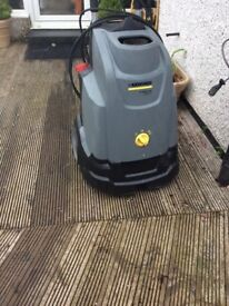 Power washer ... professional karacher hot diesel pressure washer