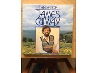 Boxed set of 4 James Galway records. Cover a wide range of genre from classical to popula