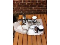 Bathroom taps with pop up wastes brand new