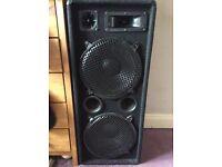 Omnitronic PA system + 1000w Amplifier