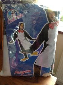 MENS PENGUIN FANCY DRESS COSTUME