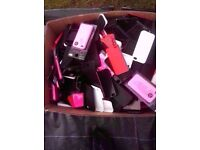 Approx 200 iphone rubber Cover's - All Brand New - Job Lot...200 covers !!!
