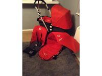 Bugaboo cameleon 1st generation red