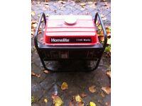 1100w homelite generator