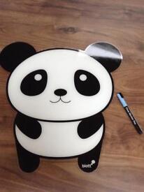 Panda dry wipe board