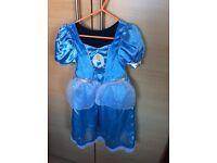 Cinderella and Snow White dress age 2-3 yrs