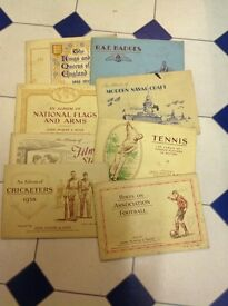 Cigarette cards players, wills and more