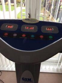 For sale my Gym Max Vibration machine excellent condition