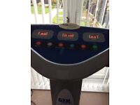 For sale my Gym Max Vibration machine excellent condition
