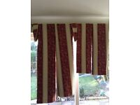 Curtains thermal lined