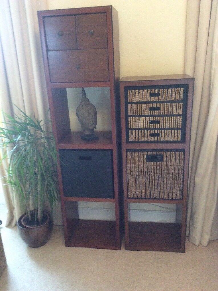 Multiyork shelves with inserts