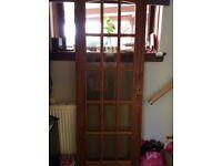Internal solid wood door