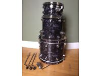 "Natal Ash ""Originals"" series - 3 piece shell pack - 12, 14, 18"". Almost unused. Quality kit!!!"