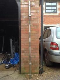 7FT Olympic Bar with Clips (Delivery Available)