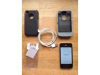 Unlocked Black iPhone 4 8GB bundle with Otterbox