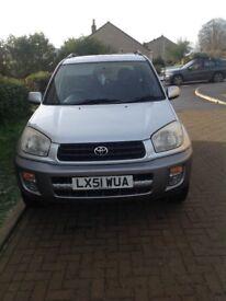 2001 Toyota RAV4 2.0