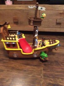 Jake and the Neverland Pirate Ship