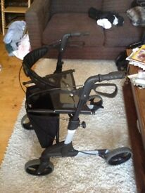 Hardly used Zimmerframe for sale ,Cost over £200. New, Selling for £50, Can deliver or collect.