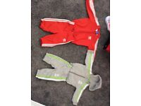 Adidas tracksuit 0-3 x2 one gray Star Wars one red