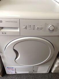 Beko condensing dryer. New/graded 12 month gtee