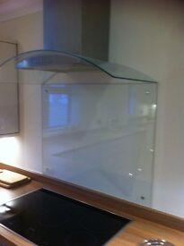 Glass splashback