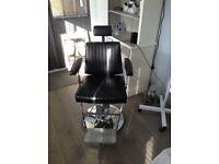 Immaculate Black Tamara Belmont Dainty Chair