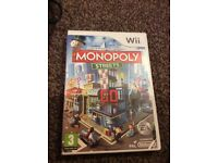Wii dance game and Matt plus monopoly streets