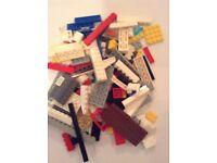 Lego, assorted pieces, 1kg bag