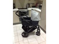 Uppababy vista pushchair and carrycot - great condition