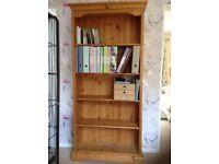 Pine/Oak bookcase