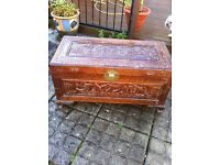 Wooden Chinese chest