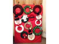 Hand made Xmas wreaths