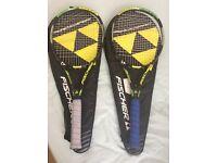 Fischer M-Pro no1 98 Tennis Rackets x2