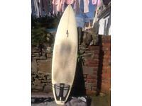 JP 6'8 surfboard