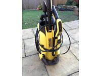 Karcher K4 pressure washer in excellent condition. Only used once