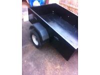 nice 5x3 car trailer for sale