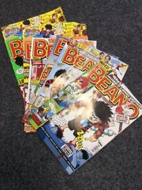 Small collection of Beano magazines