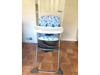 Mothercare HighT foldable highchair