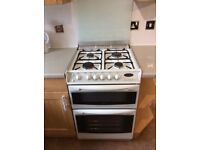 Cannon Gas Cooker with Double Oven & Grill